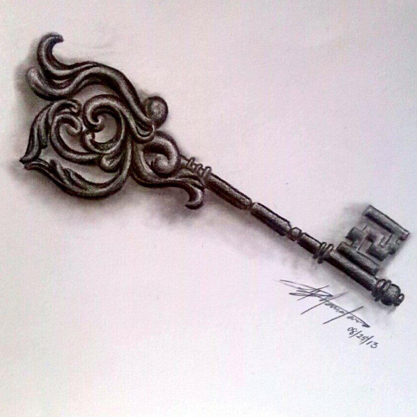 Key Art Design : Victorian key by rixiibabe on deviantart