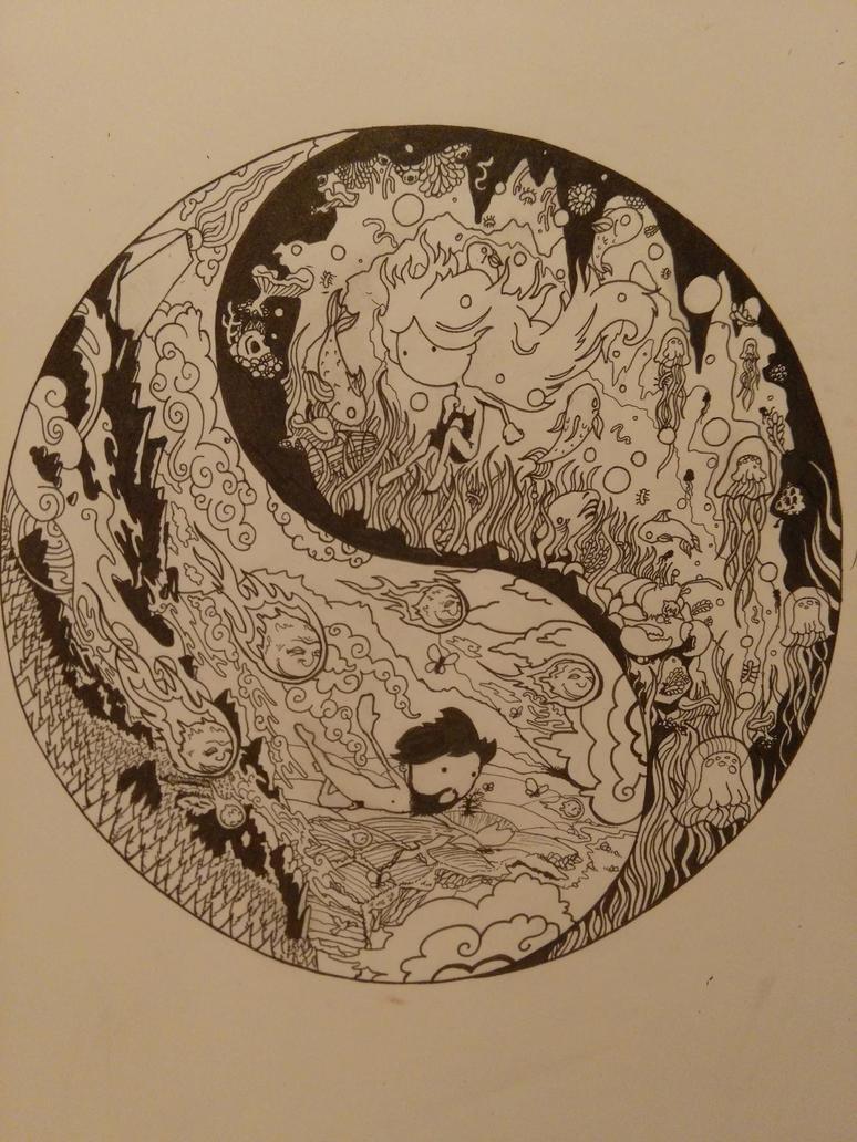 Yang and Yin by Ty-Calibre