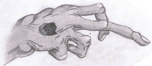 Disfigured Jesus Hand