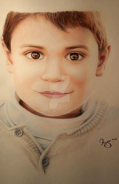 portrait of Ismael by KOS-one