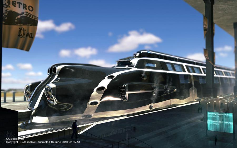 Retro Rail by JasonRoll