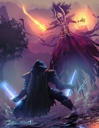 Dagger vs Death Knight by JasonRoll