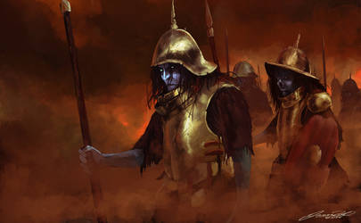 Undead Soldiers March by JasonRoll