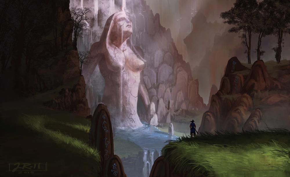 Maiden Waterfall by JasonRoll