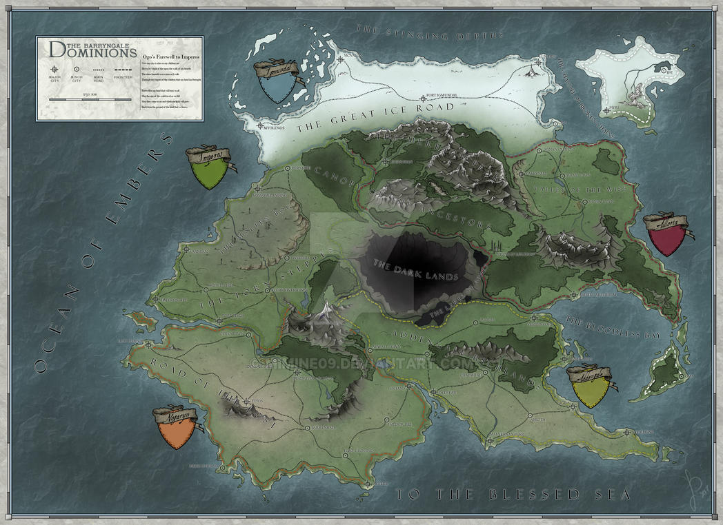 The Barryngale Dominions by Mimine09