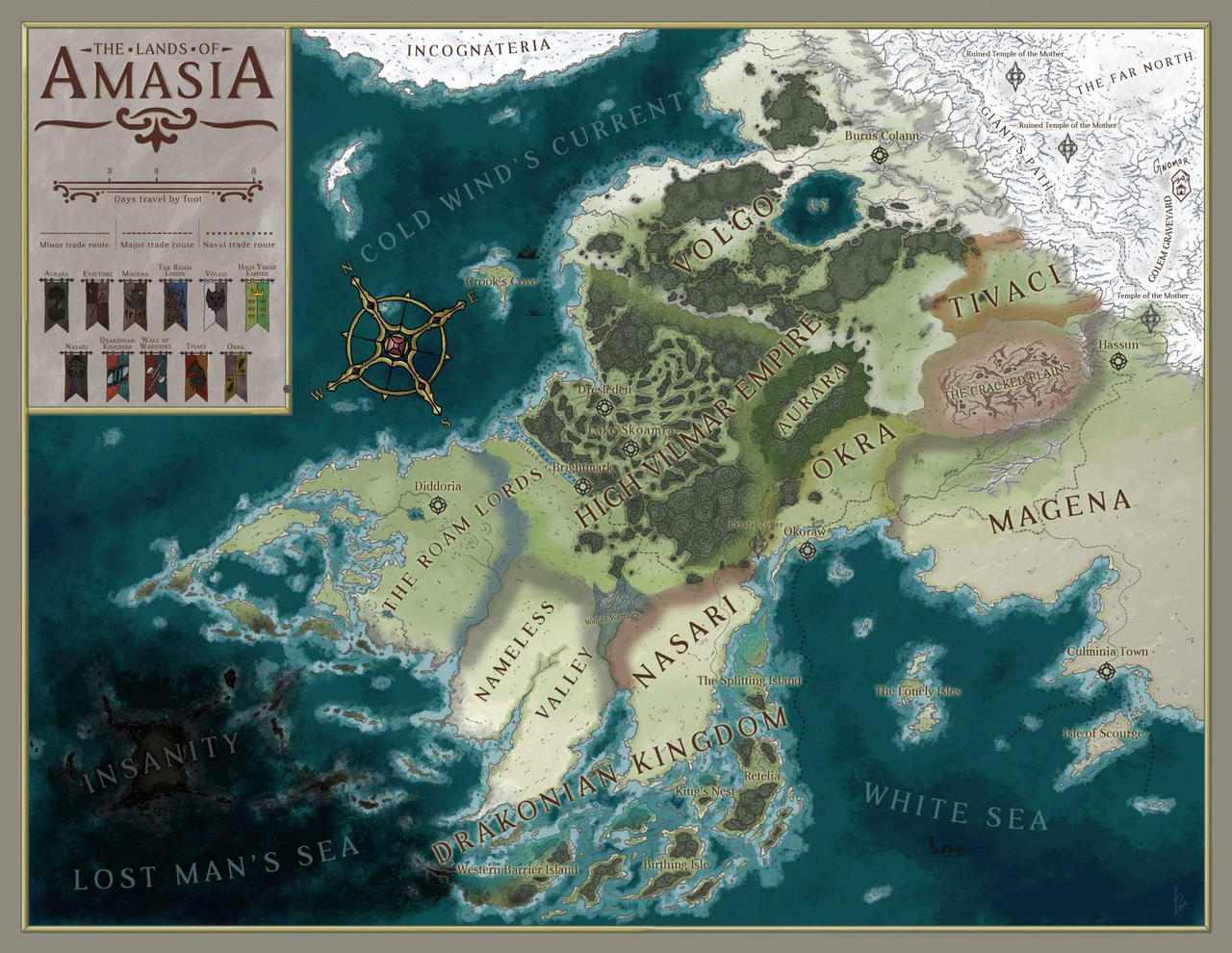 The Lands of Amasia [Commission]