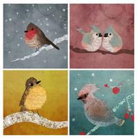 Fat Birds! by SerenaR-art