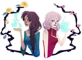 Healer Queens by SerenaR-art