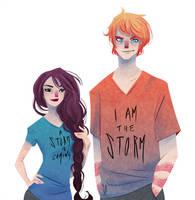 The Cool Kids by SerenaR-art