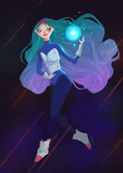 Saiyan Princess by SerenaR-art