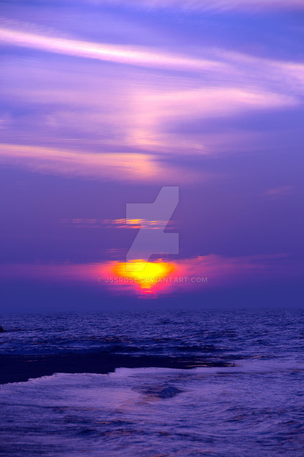 Vibrant Sunset by jssrose on DeviantArt