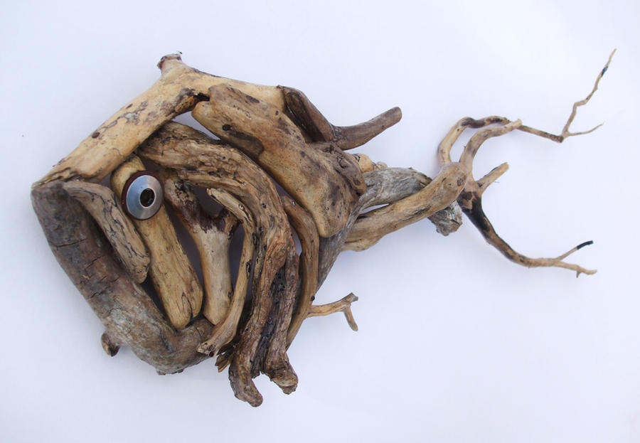 Driftwood Fish By Furidice On Deviantart