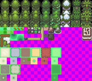[Platinum] Overworld Tiles [WIP]