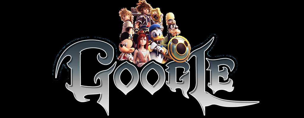 Kingdom Hearts Google Logo (+installation guide) by Albusonita
