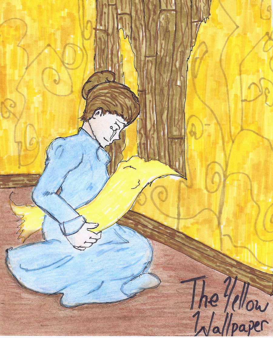 The Yellow Wallpaper By Nippy709