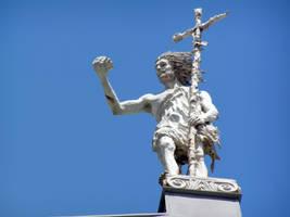 saint statue by samandel