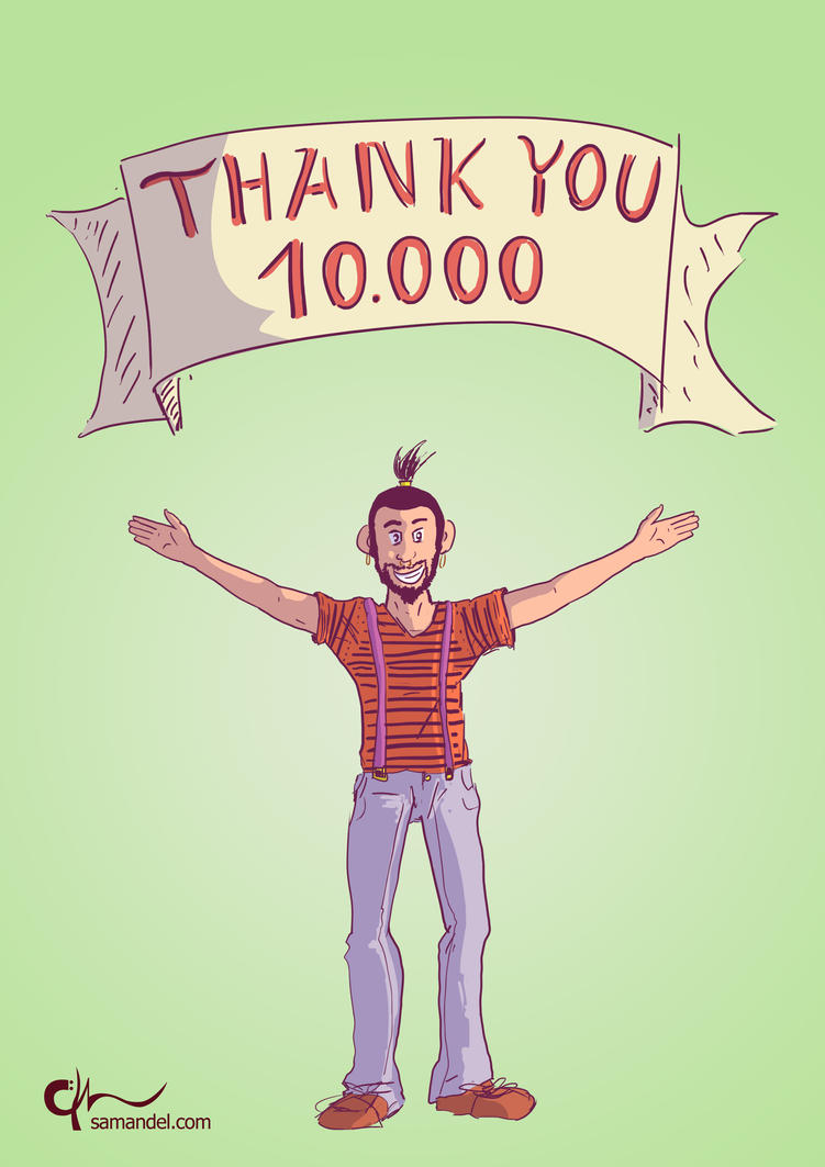 thankU10000 by samandel