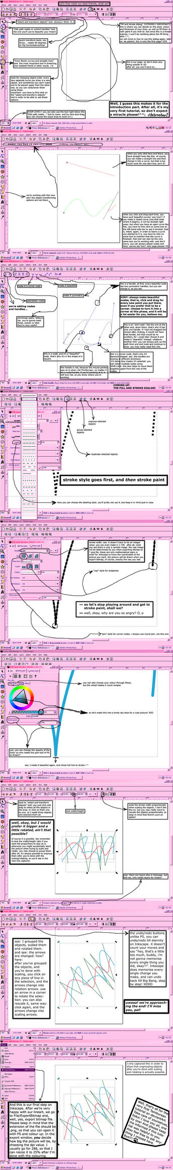 Drawing Lines In Inkscape : Basics of lineart in inkscape by yaylitambur on deviantart