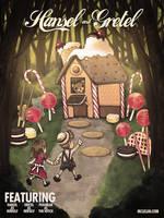 Hansel and Gretel X Pedobear by mclelun