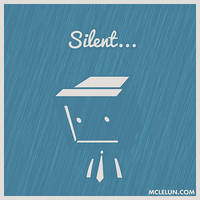 Silent by mclelun