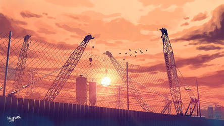 construction site by mclelun