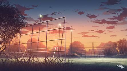 football field by mclelun