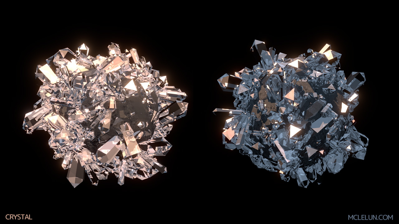 blender3d blender internal crystal diamond shader