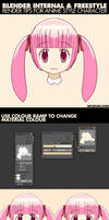 Blender and Freestyle Tips For Anime Character