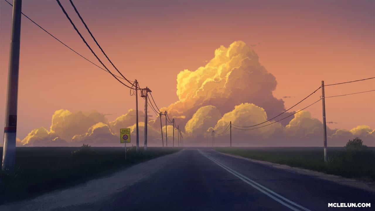 Long road by mclelun