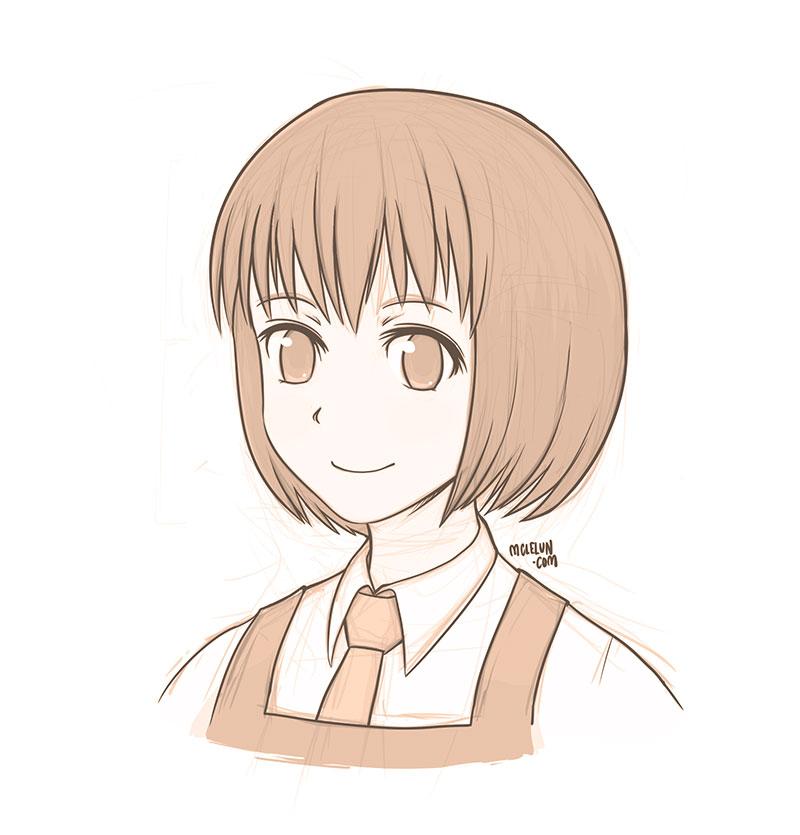 short hair by mclelun