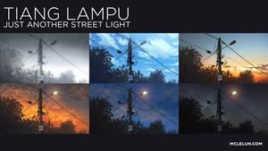 Animated Streetlight Scene