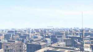 Blender3D Cityscape