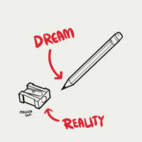 Dream VS Reality by mclelun