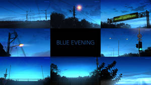 Blue Evening by mclelun