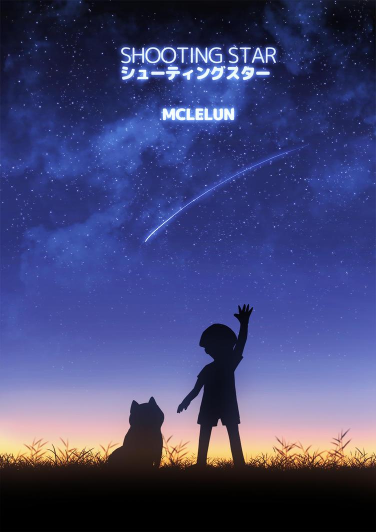 shooting star by mclelun