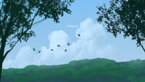Birds Flying by mclelun