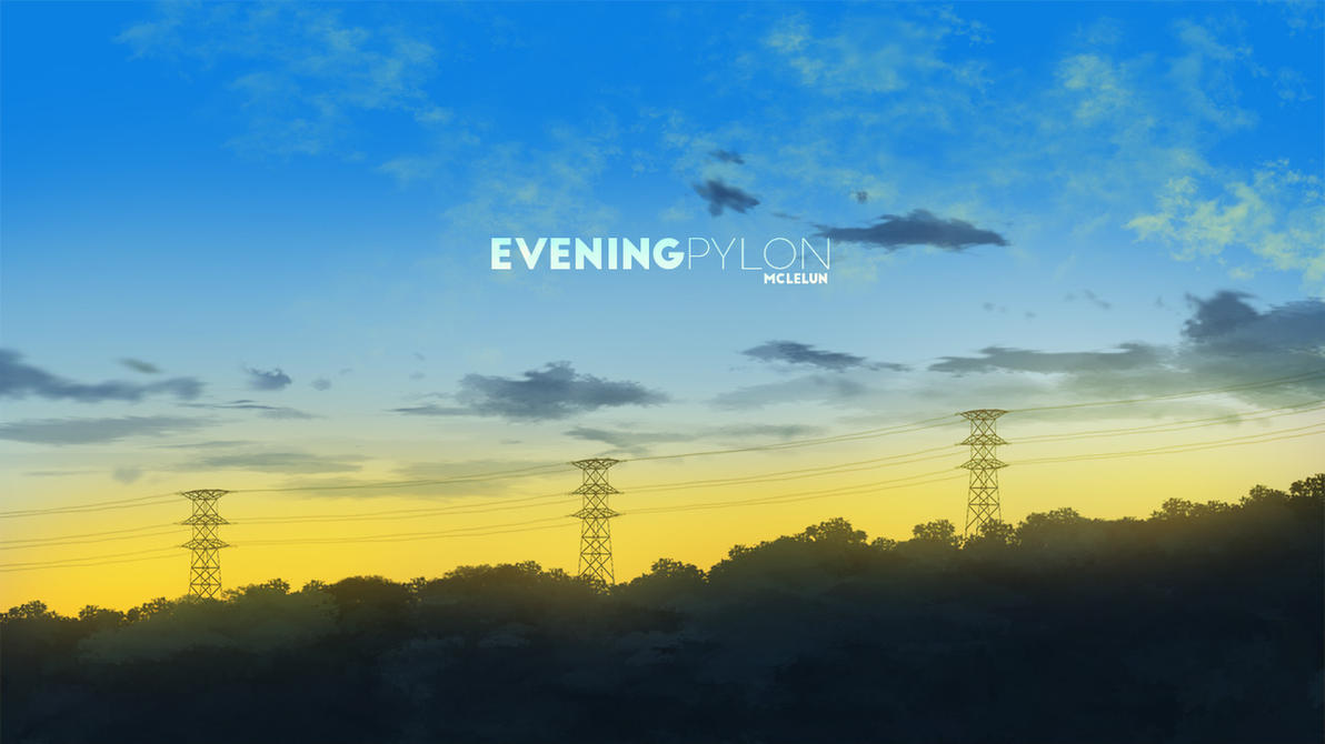 Painting Evening Pylong