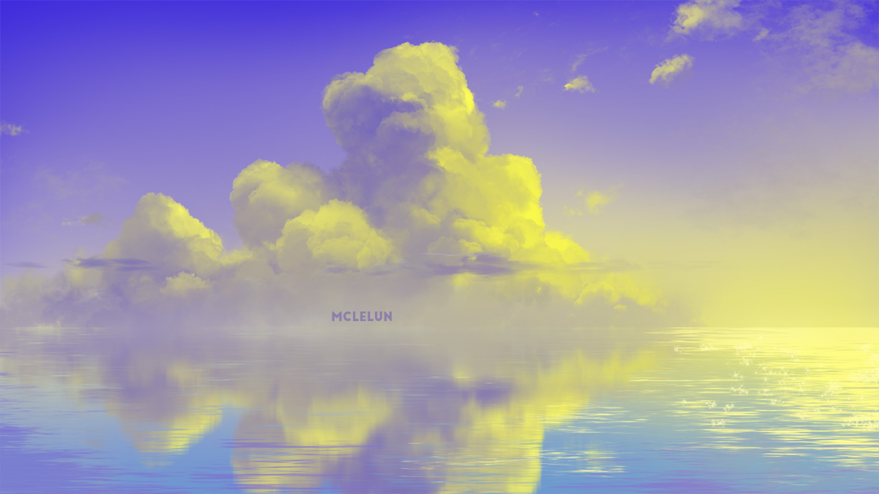 anime sunset cloud