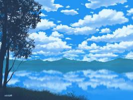Lake Cloud by mclelun