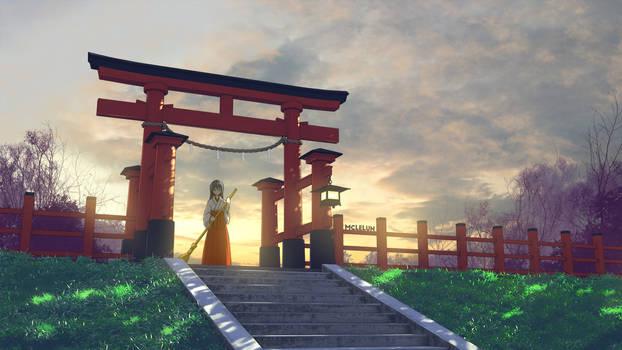 Shrine Maiden Miko