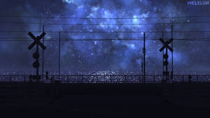 railroad crossing animated by mclelun