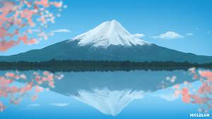 Mount Fuji by mclelun