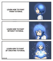 Learn How To Paint by mclelun