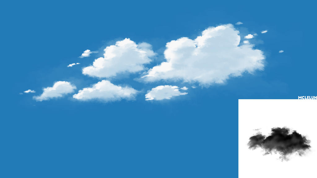 Cloud Brush From Photo