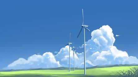 Wind Turbine by mclelun