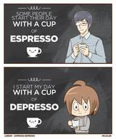 Espresso Depresso by mclelun