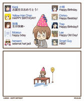 Happy Birthday! by mclelun