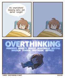 Overthinking at Night by mclelun