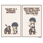 Talent is a pursued interest