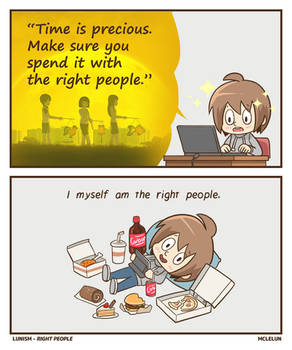 Spend It With The Right People